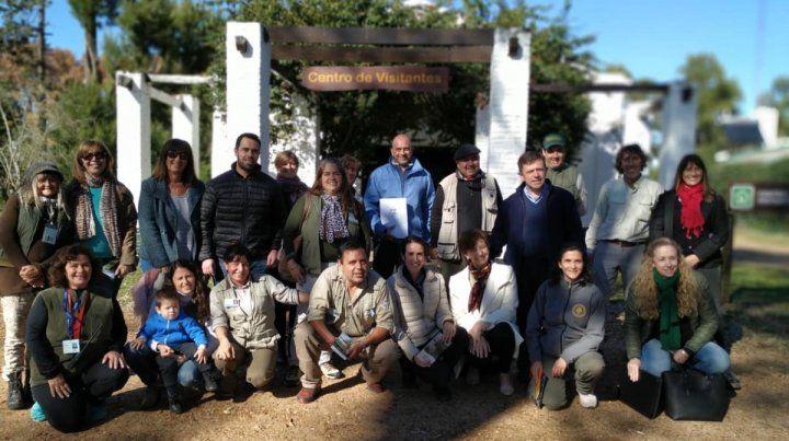 Lanzaron programas ambientales en el Parque El Palmar