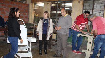 silla anfibia adaptada en seminario internacional