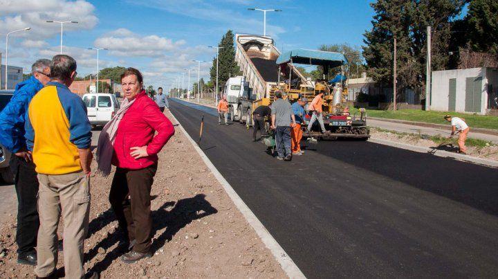 Ya tiene 90% de avance la doble vía entre Paraná y Oro Verde