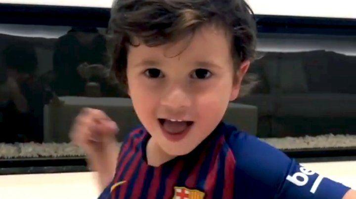 VIDEO: La anécdota de Mateo, el más pícaro de los Messi