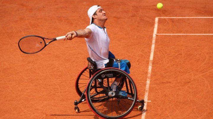 Gustavo Fernández, finalista en Roland Garros