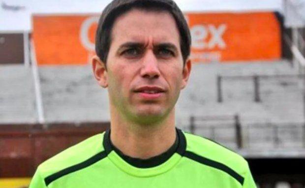 Detienen al árbitro Martín Bustos por un intento de abuso a menores