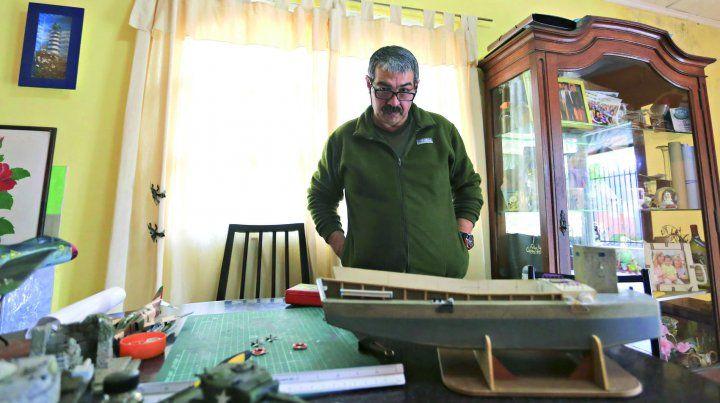 Sergio Dubini: No tengo en cuenta el tiempo que le dedico al modelismo