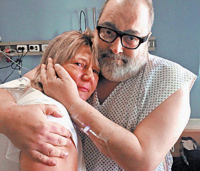 Nora y Jorge. Gracias por salvar la vida de mi hijo