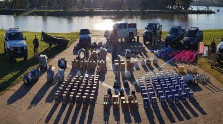 Desarticulan una banda dedicada al contrabando en Concordia