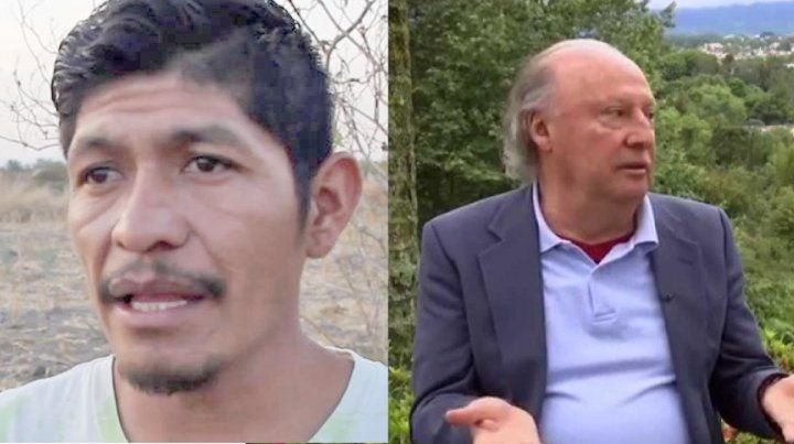 Protagonistas. Samir Flores y Víctor Manuel Toledo son las dos caras de un mismo México tan trágico como esperanzador en sus definiciones de preservación de las comunidades.