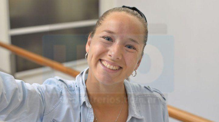 Crack. Maca es una de las mejores jugadoras de Paraná y llegó a lo más alto con el club de sus amores.