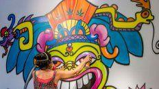 Nacida en Ecuador pero criada desde los 7 años en Nueva York, Lady Pink vio el graffiti como una forma de rebelión