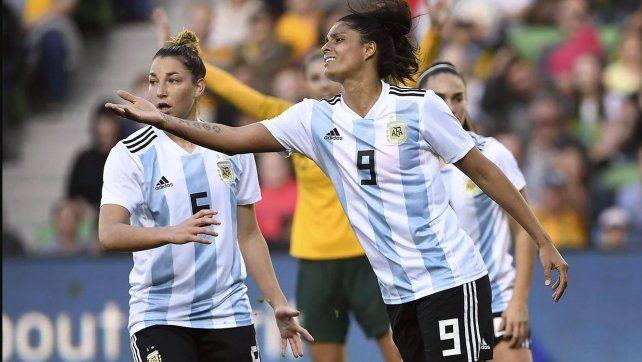 La entrerriana es una de las máximas figuras de la Selección.