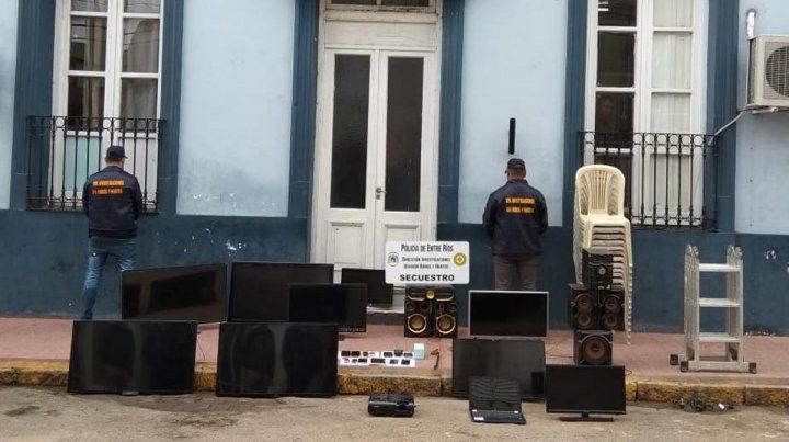 Detuvieron al jefe de una banda que hacía escruches de viviendas