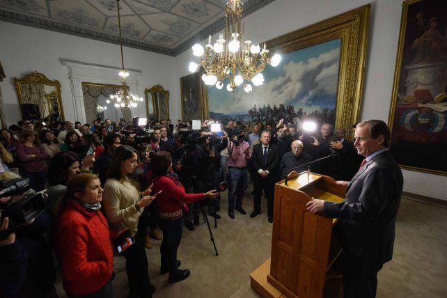 Bordet valoró el trabajo de la prensa entrerriana