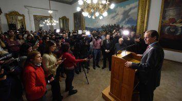 bordet valoro el trabajo de la prensa entrerriana