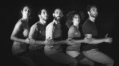 María, Mauro,Gustavo, Marcela y Nahuel están listos para el estreno.
