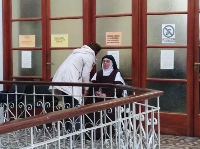 La monja dijo que las penas eran voluntarias
