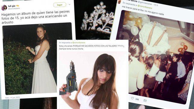 Viral: armaron un álbum con las peores fotos de los cumpleaños de 15