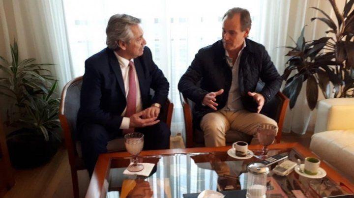 Bordet le dio el apoyo a Alberto Fernández