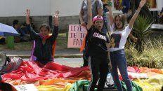 Hubo festejos en las calles de Quito, la capital del país.