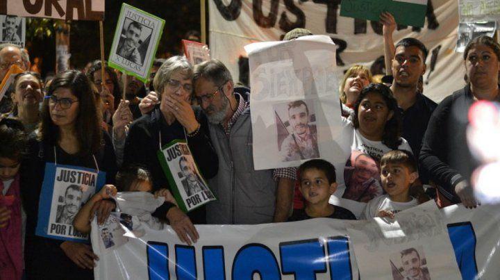 Multitudinario reclamo de justicia por el asesinato de Lucas Bentancourt