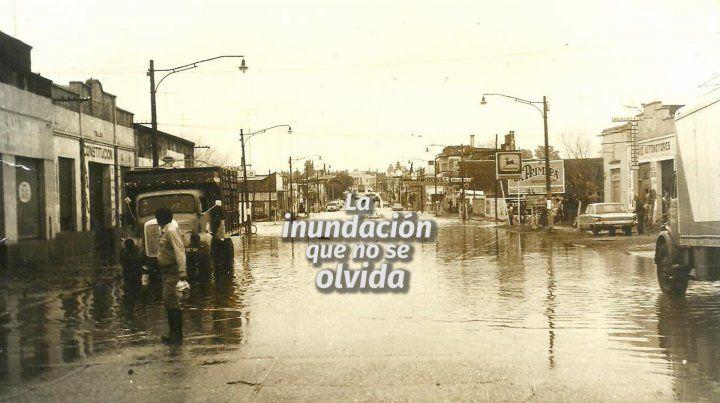 La inundación que quedó en la memoria colectiva