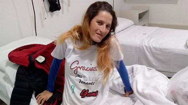 Tras ser trasplantada, la vialense Yamila Ramírez recibió el alta