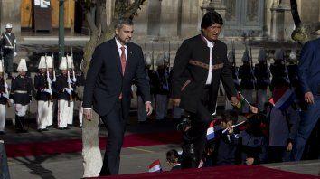 La negativa de Chile a colaborar con Bolivia hace que Morales busque otros apoyos