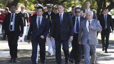 Bolsonaro se muestra junto al exjuez Moro en los actos.