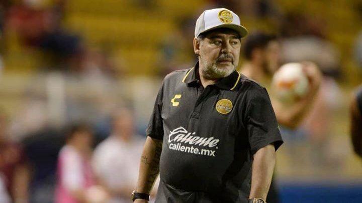 Maradona no seguirá dirigiendo a Dorados de Sinaloa