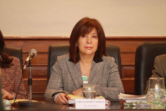 La jueza Carnero aceptó lo acordado por las partes intervinientes en el proceso.
