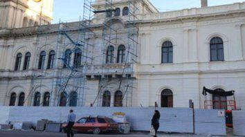 informaron sobre la reparacion de la casa gris