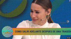 Pampita lloró por Blanquita: Si la vida te pone de rodillas, te levantás