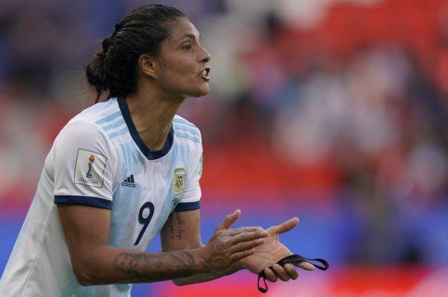 Soledad es la delantera de punta en la selección.