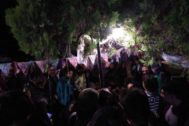 La primer kermese fue organizada para la marcha por el día mundial de la marihuana.