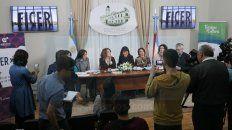 Presencias. En el lanzamiento estuvieron presentes Leonor Benedetto, Carolina Gaillard y Celina Murga.
