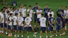 Están listos. El conjunto nacional ya está preparado para afrontar un duro compromiso ante su par de Colombia en el inicio de su camino en la Copa América de fútbol que se juega en Brasil.