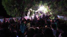La primer kermesse fue organizada para la marcha por el día mundial de la marihuana.
