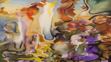 se expone muestra itinerante de pintura en el museo de bellas artes
