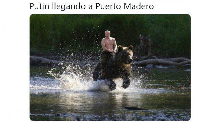 Las redes reaccionaron con memes ante el pedido de la Justicia argentina a Putin