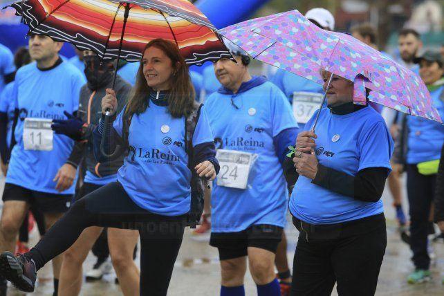 La lluvia no frenó a los atletas en Paraná
