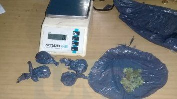 vendedor de drogas amenazo a un vecino y descubrieron venta fraccionada