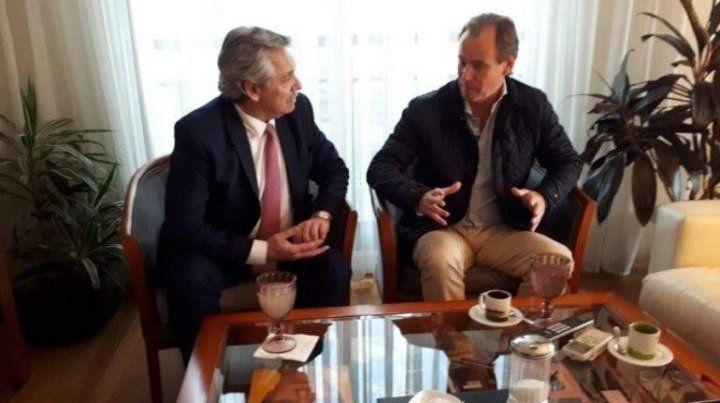 Bordet. El gobernador llegará a un acuerdo con Alberto y Cristina. Todos debemos respetarlo