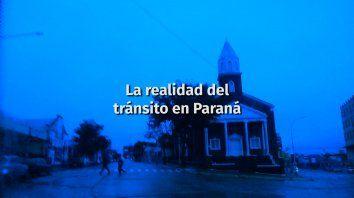 La realidad del tránsito en Paraná