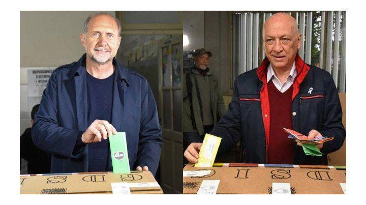 Perotti. El rafaelino encabeza el cambio de color en la Gobernación de la provincia invencible.Bonfatti perdió por muy poco.