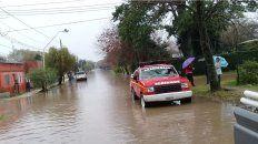 En Rosario del Tala ayer evacuaron 130 personas.