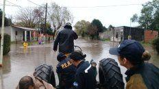 lluvias en rosario del tala dejan 170 evacuados