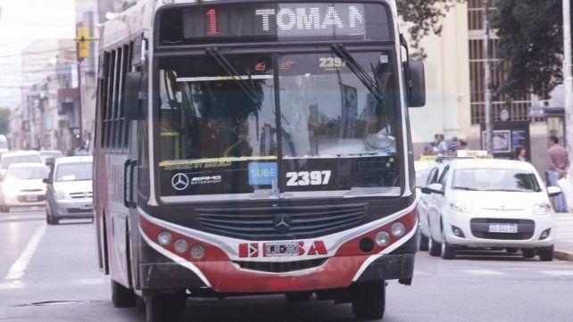 Este martes hay cortes en el servicio de transporte urbano
