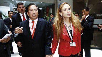 peru: piden 16 anos de carcel para expresidente toledo y su esposa