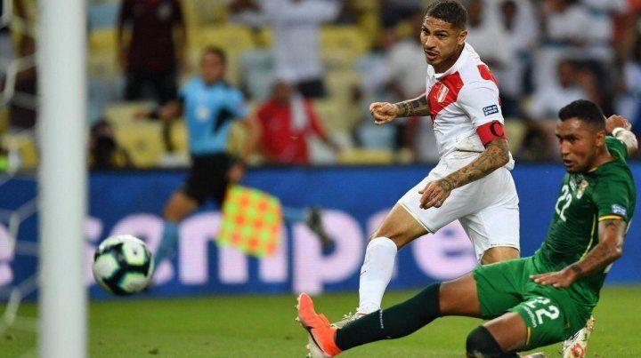 Ganó Perú y se encamina a la clasificación
