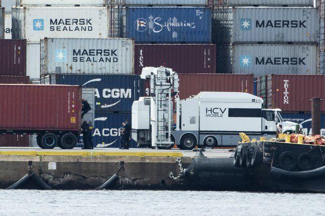 La carga pasó por Chile y siguió a Panamá