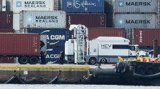 La carga pasó por Chile y siguió a Panamá, según las p
