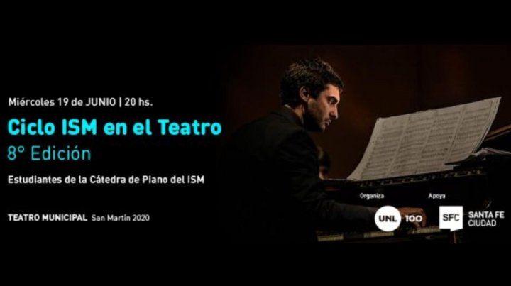 Ciclo ISM en el Teatro: Chopin, Dvorak, Satie, Poulenc y Piazzolla